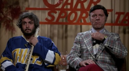"""You go to the box and you feel shame,"" - Denis Lemieux in Slap Shot"